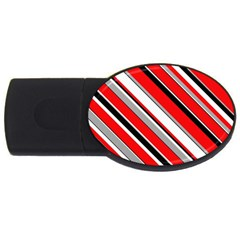 Pattern 4gb Usb Flash Drive (oval) by Siebenhuehner