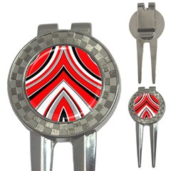 Pattern Golf Pitchfork & Ball Marker