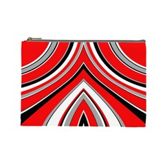 Pattern Cosmetic Bag (large) by Siebenhuehner