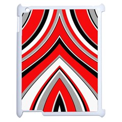 Pattern Apple Ipad 2 Case (white) by Siebenhuehner