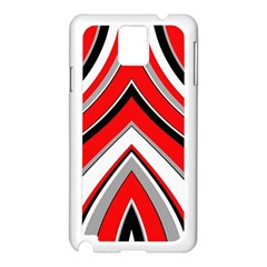 Pattern Samsung Galaxy Note 3 N9005 Case (white) by Siebenhuehner