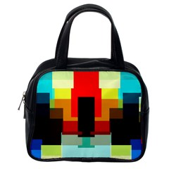 Pattern Classic Handbag (one Side) by Siebenhuehner
