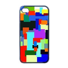 Pattern Apple Iphone 4 Case (black) by Siebenhuehner