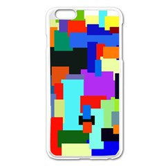 Pattern Apple Iphone 6 Plus Enamel White Case by Siebenhuehner