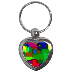 Pattern Key Chain (heart)