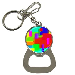 Pattern Bottle Opener Key Chain