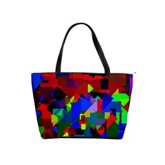 Pattern Large Shoulder Bag