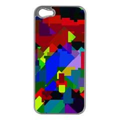 Pattern Apple Iphone 5 Case (silver) by Siebenhuehner