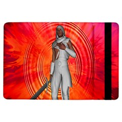 White Knight Apple Ipad Air Flip Case by icarusismartdesigns