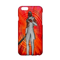 White Knight Apple Iphone 6 Hardshell Case by icarusismartdesigns