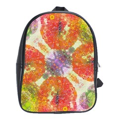 Abstract Lips  School Bag (large) by OCDesignss
