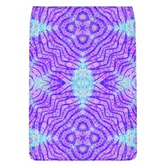Turquoise Purple Zebra Pattern  Removable Flap Cover (large) by OCDesignss