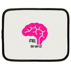 All Brains Leather  Netbook Sleeve (xxl)