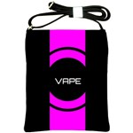 Vape Abstract Shoulder Sling Bag Front