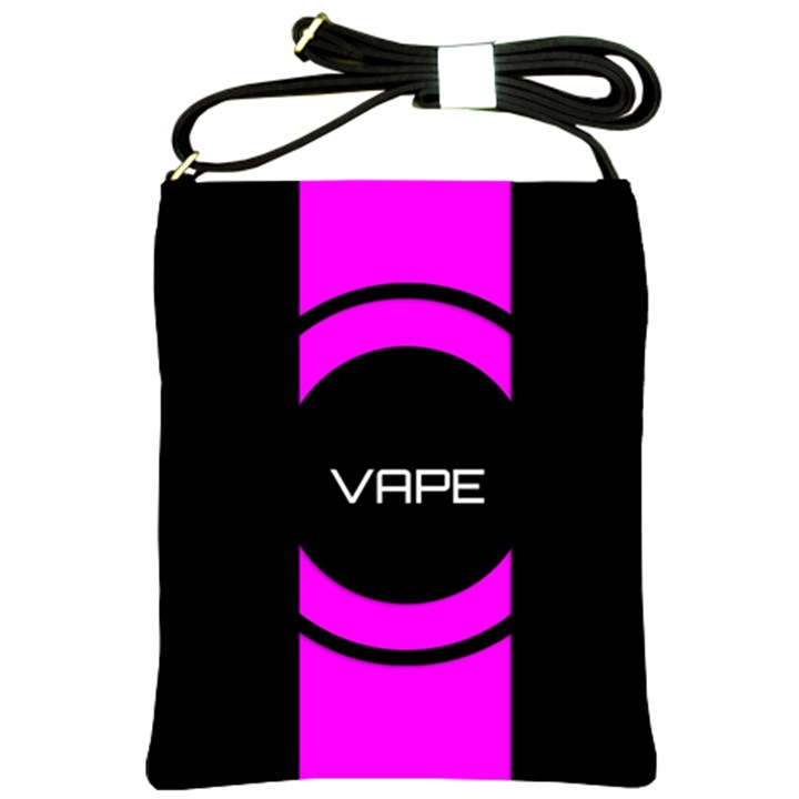 Vape Abstract Shoulder Sling Bag