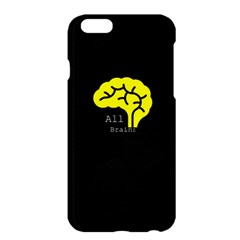 All Brains  Apple Iphone 6 Plus Hardshell Case by OCDesignss