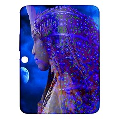 Moon Shadow Samsung Galaxy Tab 3 (10 1 ) P5200 Hardshell Case  by icarusismartdesigns
