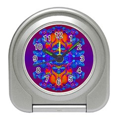 Abstract Reflections Desk Alarm Clock