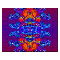 Abstract Reflections Jigsaw Puzzle (rectangle) by icarusismartdesigns