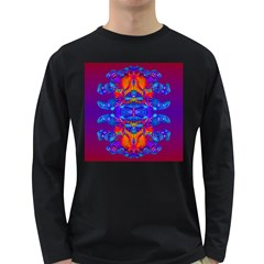 Abstract Reflections Men s Long Sleeve T Shirt (dark Colored) by icarusismartdesigns