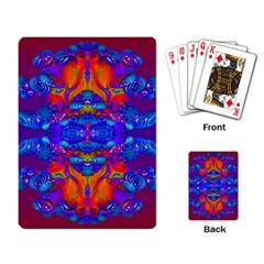 Abstract Reflections Playing Cards Single Design by icarusismartdesigns