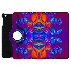 Abstract Reflections Apple Ipad Mini Flip 360 Case by icarusismartdesigns