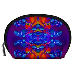 Abstract Reflections Accessory Pouch (large) by icarusismartdesigns