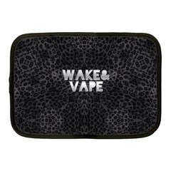 Wake&vape Leopard  Netbook Sleeve (medium) by OCDesignss