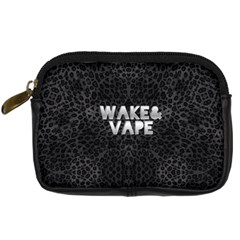 Wake&vape Leopard  Digital Camera Leather Case