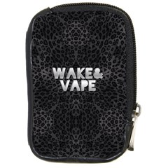 Wake&vape Leopard  Compact Camera Leather Case by OCDesignss