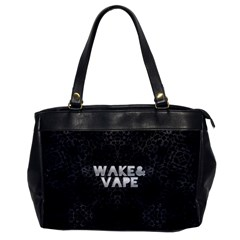 Wake&vape Leopard  Oversize Office Handbag (one Side) by OCDesignss