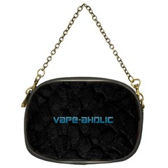 Vape Aholic Turquoise  Chain Purse (one Side)