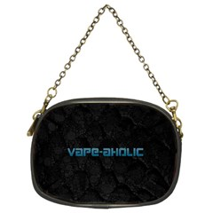 Vape Aholic Turquoise  Chain Purse (two Sided)  by OCDesignss