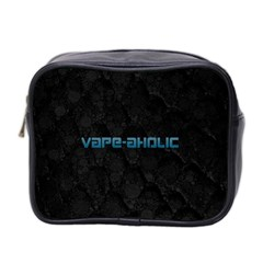 Vape Aholic Turquoise  Mini Travel Toiletry Bag (two Sides) by OCDesignss