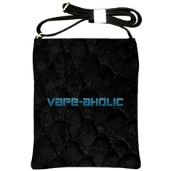 Vape Aholic Turquoise  Shoulder Sling Bag by OCDesignss