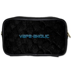 Vape Aholic Turquoise  Travel Toiletry Bag (two Sides) by OCDesignss
