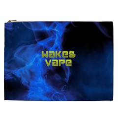 Wake&vape Blue Smoke  Cosmetic Bag (xxl) by OCDesignss