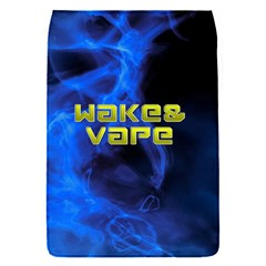 Wake&vape Blue Smoke  Removable Flap Cover (small) by OCDesignss