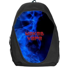 Wake&vape Blue Smoke  Backpack Bag by OCDesignss