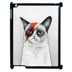 Grumpy Bowie Apple Ipad 2 Case (black)