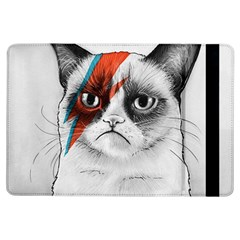 Grumpy Bowie Apple Ipad Air Flip Case
