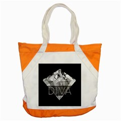 Diva Diamond  Accent Tote Bag by OCDesignss