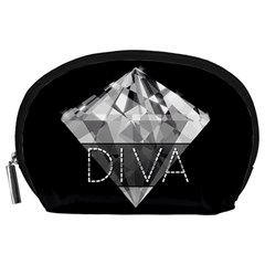 Diva Diamond  Accessory Pouch (large) by OCDesignss