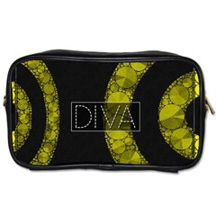 Diva Bling  Travel Toiletry Bag (two Sides) by OCDesignss