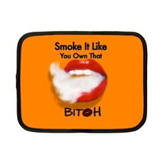 Vape Mouth Smoke Own That Netbook Sleeve (small) by OCDesignss