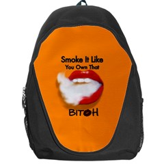 Vape Mouth Smoke Own That Backpack Bag by OCDesignss