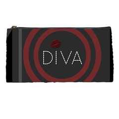 Diva Lips Pattern  Pencil Case by OCDesignss