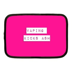 Vaping Kicks Ash Pink  Netbook Sleeve (medium) by OCDesignss