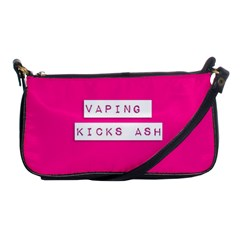 Vaping Kicks Ash Pink  Evening Bag by OCDesignss