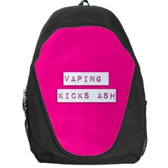 Vaping Kicks Ash Pink  Backpack Bag by OCDesignss